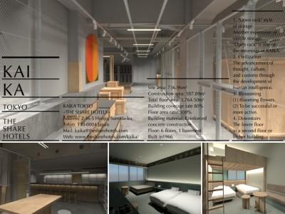 アートストレージ×ホテル 全く新しいコンテンポラリーアートの拠点が誕生「KAIKA TOKYO -THE SHARE HOTELS-」浅草エリアに来春オープン