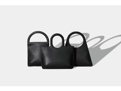 デザインスタジオ「KITSUCA」オリジナルブランドをスタート。ミニマルな輪郭のレザーハンドバッグ「Outline bags」をリリース。