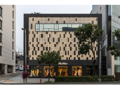 マックスマーラ 韓国初の旗艦店をオープン