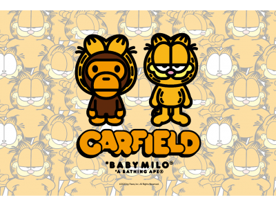 A BATHING APE(R) × GARFIELD