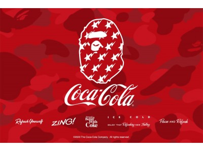 A BATHING APE(R) × COCA-COLA(R)