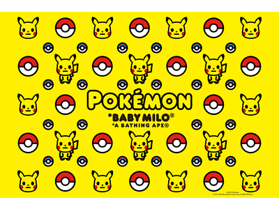 A BATHING APE(R) 「Pokemon」 COLLECTION