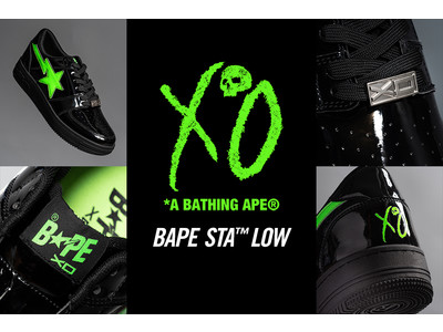 A BATHING APE(R) x XO