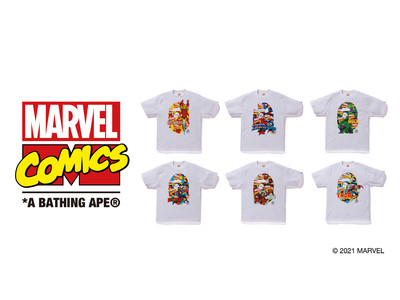 "A BATHING APE(R) ""MARVEL"" Collection"