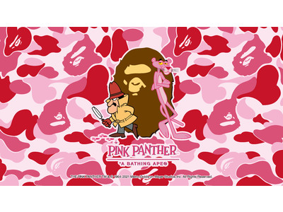 A BATHING APE(R) × PINK PANTHER