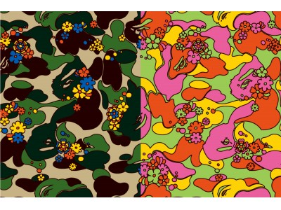 A BATHING APE(R)︎ ABC CAMO FLOWER COLLECTION