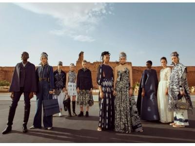 【DIOR】モロッコ マラケシュでディオール 2020 クルーズ コレクションを発表