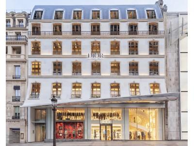【DIOR】パリ・シャンゼリゼ通りに新店舗がオープン