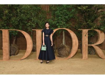 【DIOR】桐谷美玲などセレブリティのドレススタイルに注目!ディオール 2020 春夏 コレクション ショー