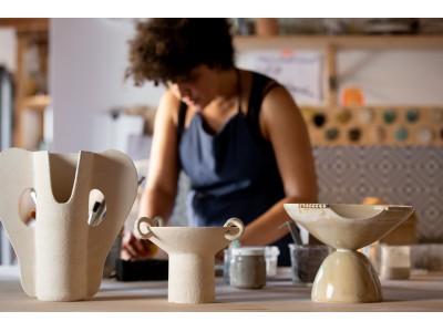 【DIOR MAISON】新作花器コレクション『ANNE AGBADOU-MASSON VASES』が発売