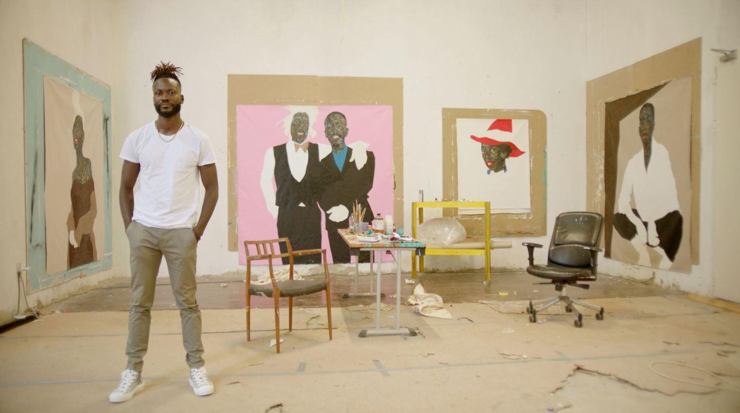 【DIOR】サマー 2021 メンズ コレクションを発表:アーティストの肖像画