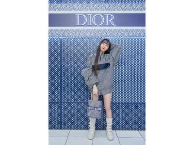 【DIOR】Cocomiと訪れる「ディオール ブルー ドット」の世界