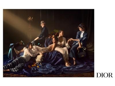 【DIOR】絵画的な美が宿る、2021春夏 コレクション 新キャンペーンを公開