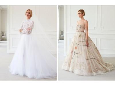 【ディオール】キアラ・フェラーニのためのウェディングドレスを公開