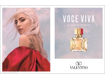 "<VALENTINO BEAUTY> 日本上陸!""レディー・ガガ""がアンバサダーを務めるフレグランス「VOCE VIVA」登場"