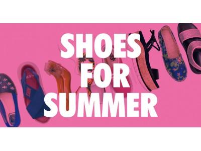 スポサンも雨靴も!レディースUSEDサマーシューズ400足揃うPOPUPストア「SHOES FOR SUMMER」6月21日(金)よりKOMEHYO名古屋本店にて開催