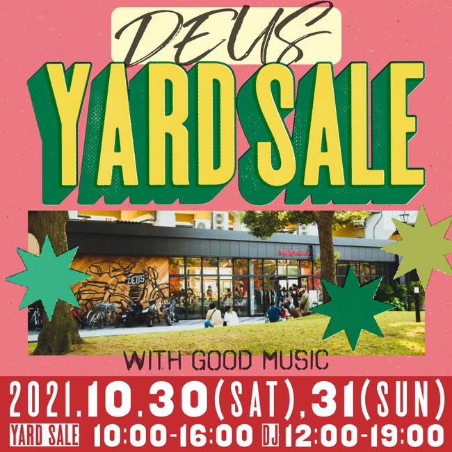 今週末 デウス浅草でフリーマーケットを開催 !