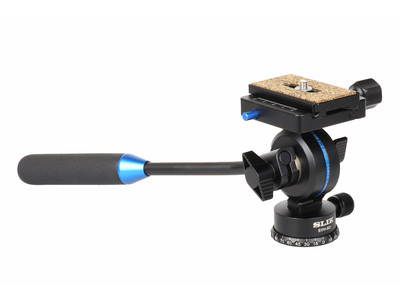 アルカ互換クイックシューを搭載した軽量ビデオカメラ、一眼動画に対応するビデオ雲台「SVH-501」