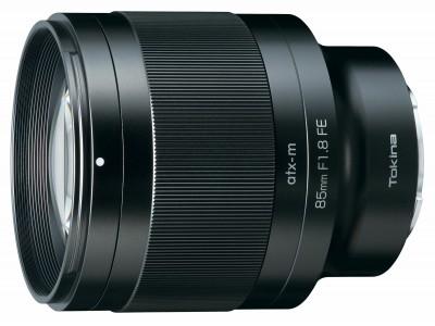 ミラーレスカメラ専用交換レンズの新シリーズ「atx-m」第1弾「atx-m 85mm F1.8 FE」