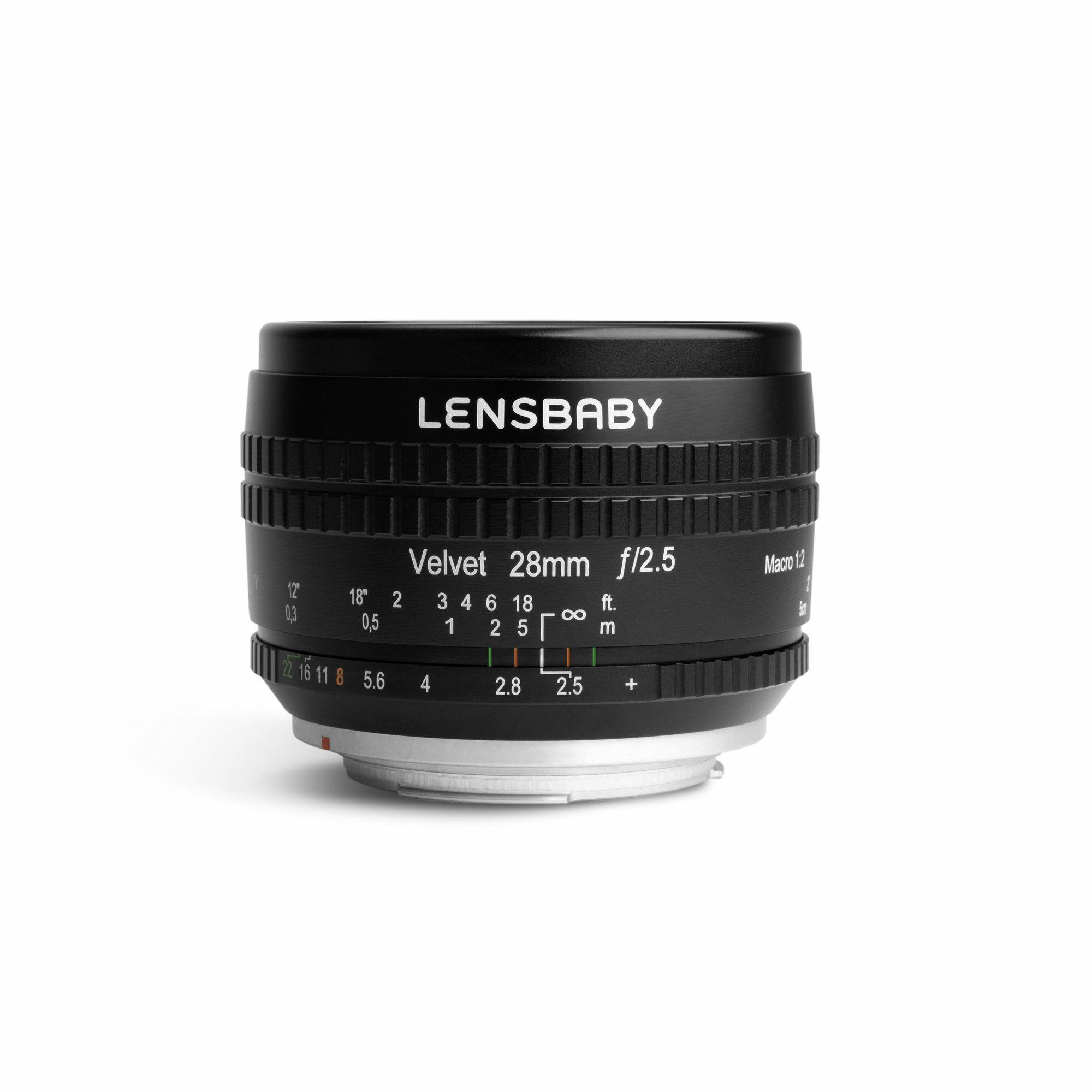 Lensbaby社新製品、ソフトフォーカスの28mmアートレンズ「Velvet 28」 画像