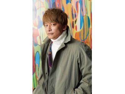 紳士服/婦人服 「サンヨー」香取慎吾さんが描く色鮮やかなアート作品とのコラボコートが「サンヨー」から誕生