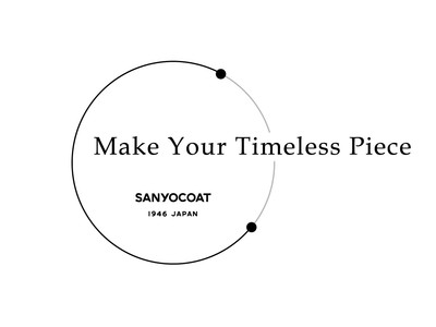 "「SANYOCOAT」が考える""スローファッション"" 「Make Your Timeless Piece」としてコートの受注会を開催"