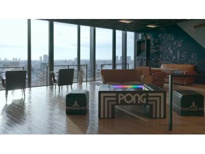 タイトーが販売する「TABLE PONG(テーブル ポン)」がIDC OTSUKA 新宿ショールームにて先行独占販売!