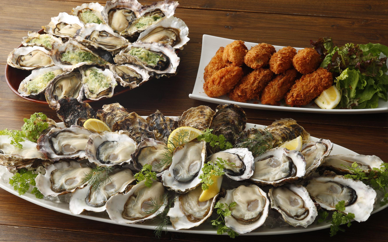 大人気の「真牡蠣食べ放題」10月もランチ・ディナー、終日開催!