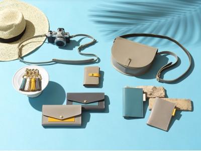 太陽きらめくリゾートでのバカンスをイメージしたバッグや財布、革小物がGLENROYALの「GRACE COLLECTION」から新登場