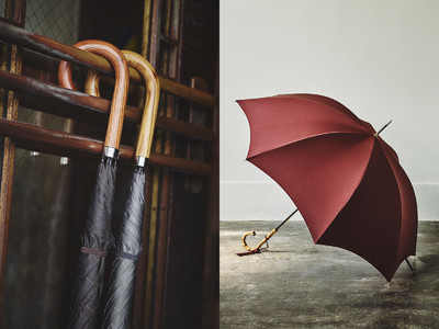 カスタムオーダーも。現代の傘のパイオニア、フォックスアンブレラズのPOP-UP EVENTをブリティッシュメイドにて開催