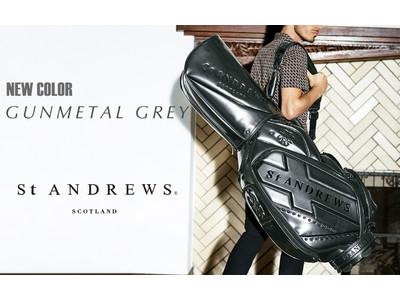 ゴルフアパレル『St ANDREWS』が好調のキャディバッグ新色を発売