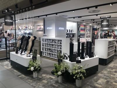 大丸心斎橋 本館にレッグウエア専門直営店「ATSUGI」開店 あす9月20日オープン