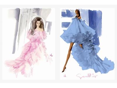 【銀座 蔦屋書店】パリファッションシーン注目のイラストレーター、マルク・アントワーヌ・クーロンの限定リトグラフを店頭・オンラインストアで4月1日~販売開始。