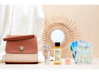 ~LANCÔME の化粧水や王侯貴族も愛したソープがIN(ハート)~ 6月の My Little Box は夏らしいバッグでお届け♪