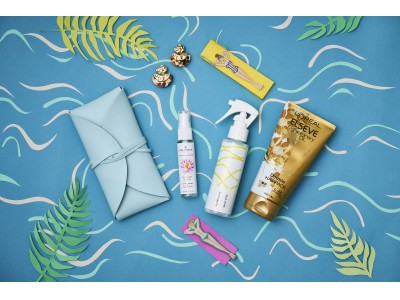 プールに!海に!この夏、フランスで大流行のトレンドグッズが登場 7月Boxはパリジェンヌ風な夏休みの過ごし方をテーマにした「LA PISCINE(プール)」