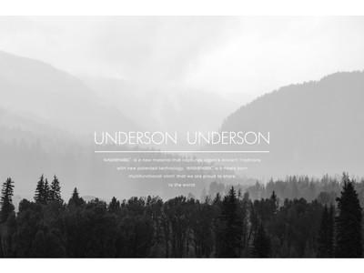 【IDEE TOKYO】サステナブルなアンダーウェア「UNDERSON UNDERSON」のPOP UPを開催