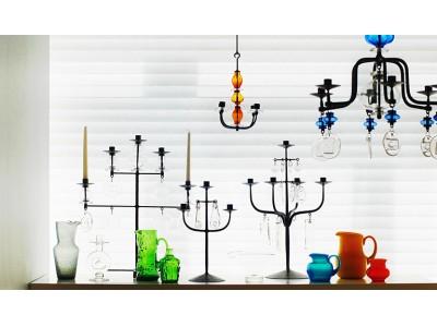 【イデー】スウェーデンを代表するガラスアーティスト「エリック・ホグラン」の展示会を開催