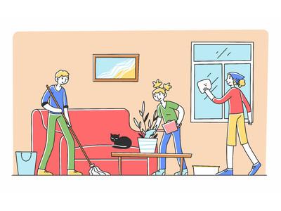新生活様式や、外出自粛の影響は?コロナの影響で日常的な掃除の頻度は増えつつも…今年の年末に「大掃除をする予定アリ」97.3%  約3割が外出自粛期間に「大掃除をした」、20~30代夫婦では4割超